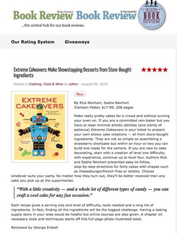 City Book Review - San Francisco Book Review/Sacramento Book Review - 5 Stars!