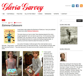 Gloria Garvey blog